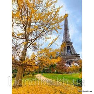 """Картина по номерам """"Осень в Париже"""" 40×50 см Акриловые Краски"""