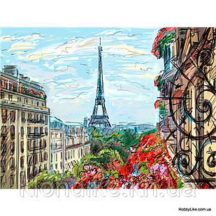 "Картина по номерам ""Париж"" 40×50 см Акриловые Краски"