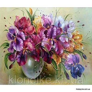 """Картина по номерам """"Цветы"""" 40×50 см Акриловые Краски"""