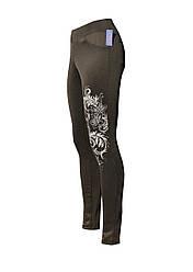 Стильные женские брюки стрейч Узор
