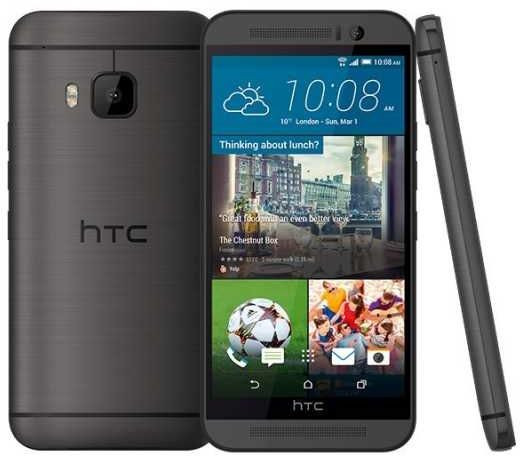 Смартфон HTC One (M9+) (Gunmetal Gray)