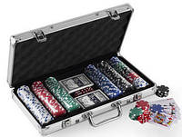 Покерный набор в алюминиевом кейсе 300 IG-4392-300