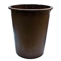 Корзина для бумаг без прорезей для мусора Кип коричневый