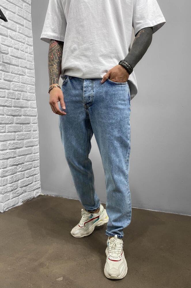 😝 Джинси - широкі Чоловічі Джинси / чоловічі джинси голуюі вільні