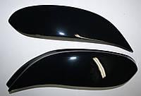 Реснички на фары Opel Vivaro (чёрные)