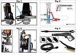 Потужна мийка високого тиску (керхер) для авто Oleo-Mac PW115C мінімийка, фото 7