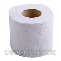 Туалетная бумага белая 2-х слойная бытовой рулон 16 м Mirus Чудово, фото 3