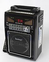 Радиоприёмник с LED-светильником New Kanon KN-511, запись, караоке с микрофоном, МР3-плеер, пульт ДУ
