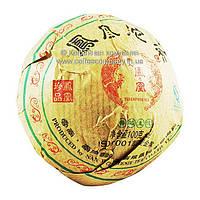 Чай Пуэр Шен прессованный 100г
