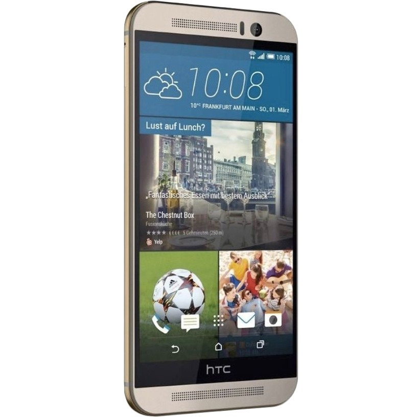 Смартфон HTC One (M9+) (Gold on Silver)
