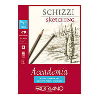 Склейка для эскизов Fabriano Accademia А4 21х29,7см 50л. 120г/м2 (8001348150732)