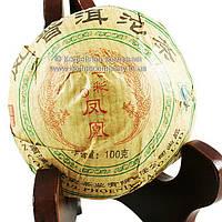 Чай Пуэр Шен слабоферментированный прессованный 100г