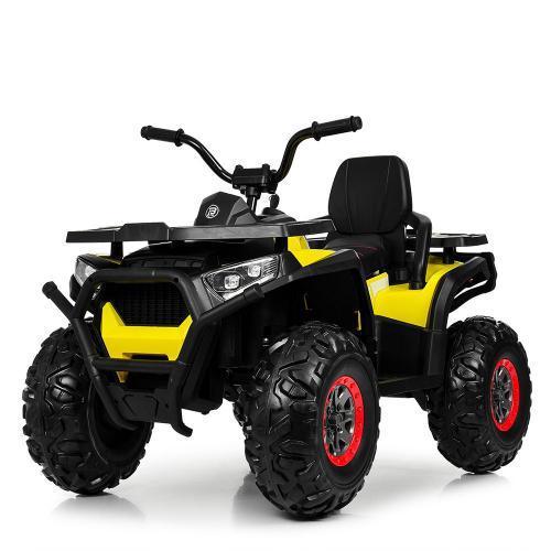 Электроквадроцикл дитячий M 4081EBLR-2-6 чорно-жовтий