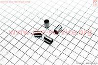 Направляющие втулки цилиндра 8*12 внутри 7 мм 4 штуки на скутер  4т  50-100 сс