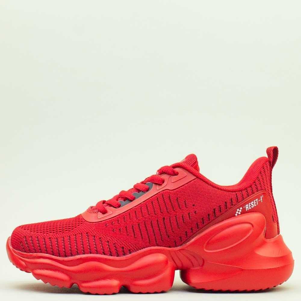 Кроссовки BaaS 1663-8 Ж 579230 Красные