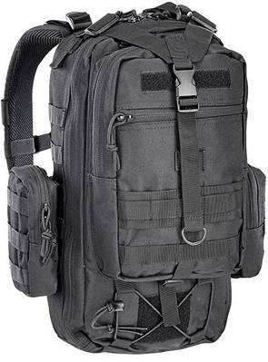 Мощный штурмовой рюкзак 25 л. Defcon 5 Tactical One Day 25, 922249 черный