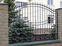 Оригінальний кований паркан