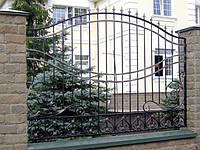 Оригинальный кованый забор