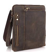 Сумка через плече чоловіча коричнева Tiding Bag t0030R, фото 1