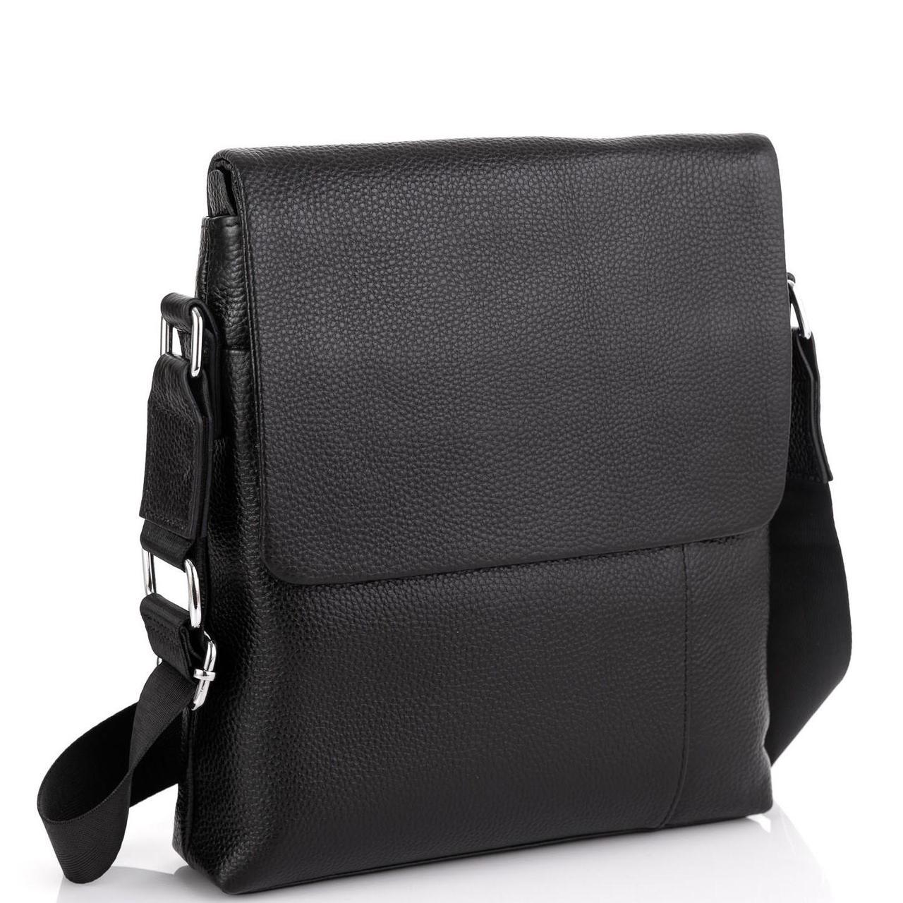 Шкіряна сумка через плече з клапаном Tiding Bag A25F-8878A