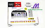 Підсилювач звуку UKC SN-004BT USB+SD+FM+Bluetooth (домашній стерео підсилювач звуку з караоке, блютуз), фото 6