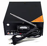 Усилитель звука BM AUDIO Bluetooth BM-800BT USB SD FM радио MP3 (домашний стерео усилитель звука с блютуз), фото 3