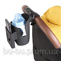 Универсальный подстаканник для коляски с ящиком для мобильного телефона (№5)