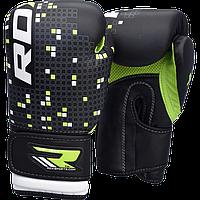 Детские боксерские перчатки RDX Green