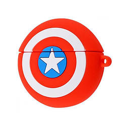 Футляр для навушників AirPods Pro Captain America