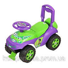 Дитяча машинка-толокар зі спинкою 0141/02 (Фіолетовий)