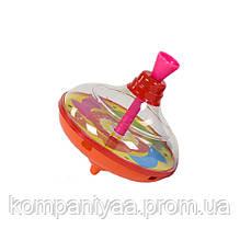 Дитяча пластикова дзига 8515-2 (Помаранчева)