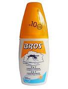 Спрей від комарів 2в1 + захист від сонця 10+ 50 мл, BROS