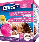 Електрофумігатор +10 пластин від комарів для дітей, BROS