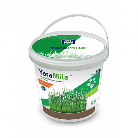 Добриво комплексне для газону весна - літо Yara Mila,10 кг, фото 2