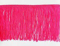 Бахрома  h=15 см   ярко-розов.