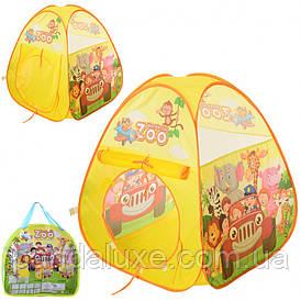 Детская игровая палатка MR 0032 зоопарк