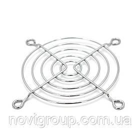 Решітка (гриль) для вентиляторів 80mm, Silver
