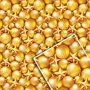 Новогодняя подарочная упаковочная бумага 70*100см 10л/уп №516