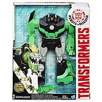 Трансформер Грімлок Гиперчэдж трансформація в 3 кроки, 23 см - RID, Hasbro