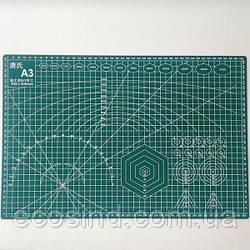 Самовосстанавливающийся раскройный коврик для пэчворка 45х30см (СИНДТЕКС-0822-1)