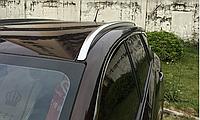 Рейлинги Mazda CX-4 2016- интегрированные серые