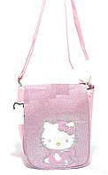 Красивая блестящая сумка  Hello Kitty