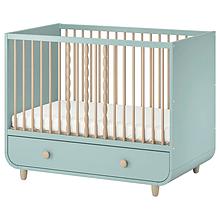 Детская кроватка с ящиком MYLLRA