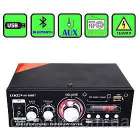 Усилитель звука UKC AK-699BT USB SD FM радио Bluetooth усилитель с юсб