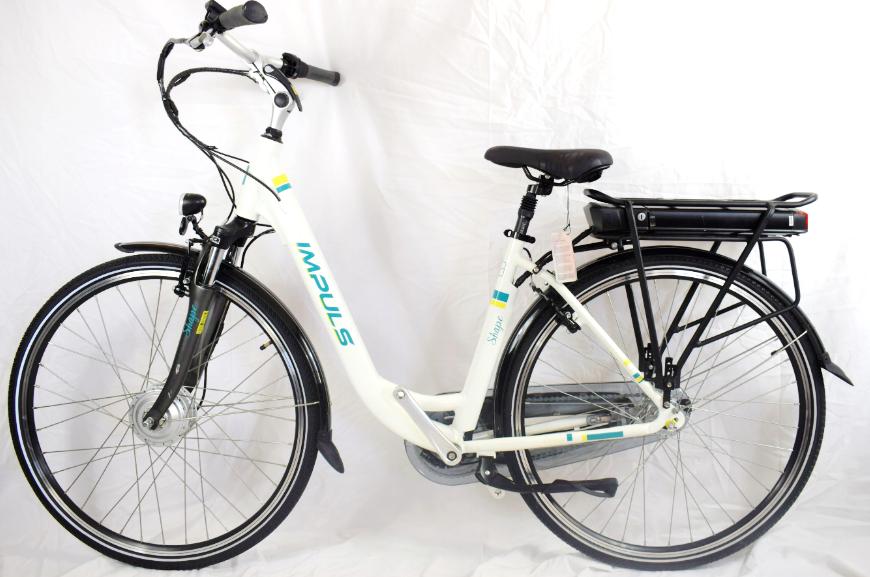 Електровелосипед IMPULS 27,5 Nexus 3 white Німеччина