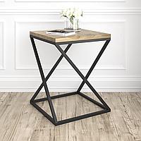 Подстолье для журнального стола из металла 500×500mm, H=600mm