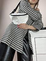 Поясна сумка жіноча з паперу біла 1PSBx3