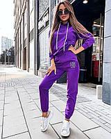 Женский стильный спортивный костюм с капюшоном, фото 1
