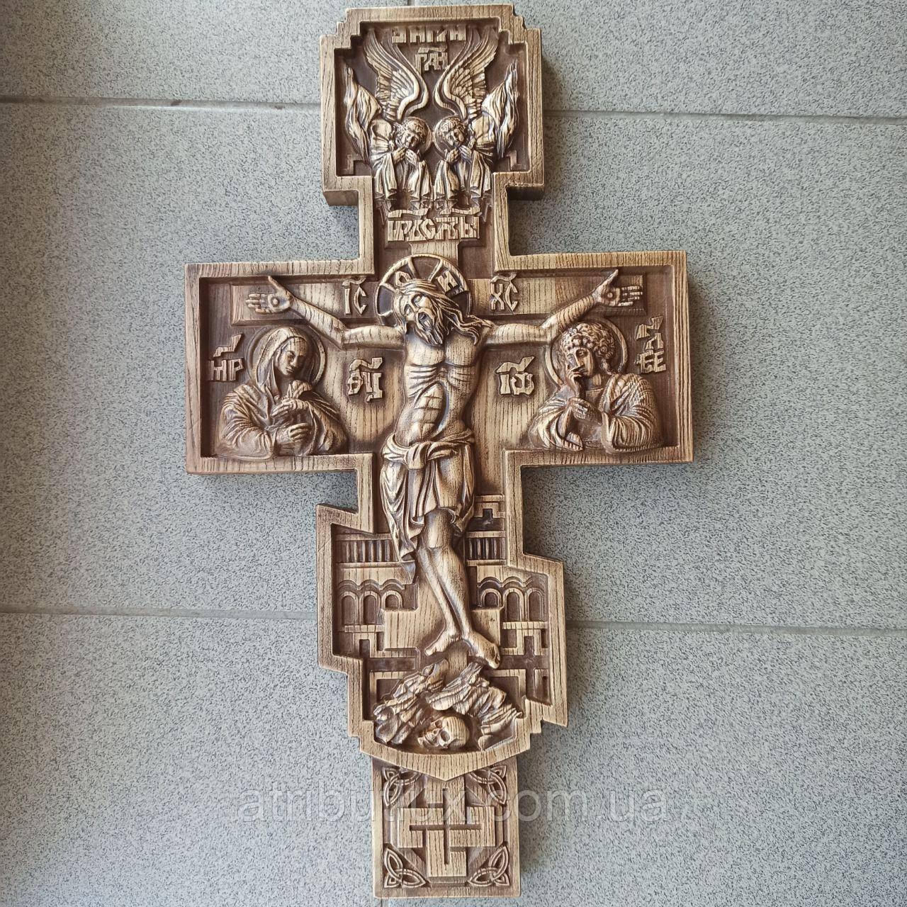 Різьблений хрест 8