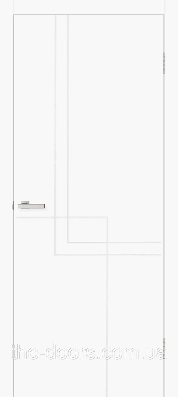 Двері міжкімнатні Оміс Геометрія 05 глухі